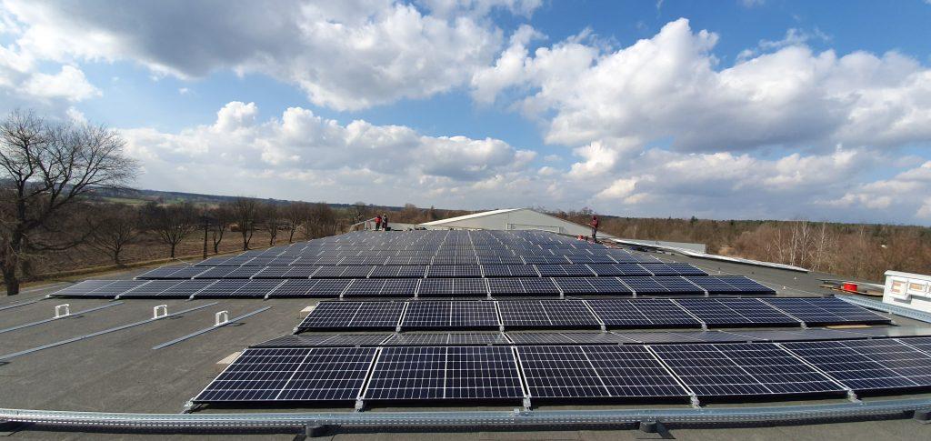 Konstantynów Łódzki 200 kWp - Wykonawca: Elektromeks